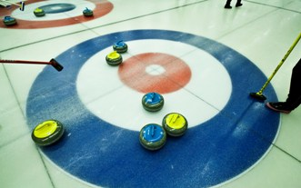 Curling Event mit Weltmeistern